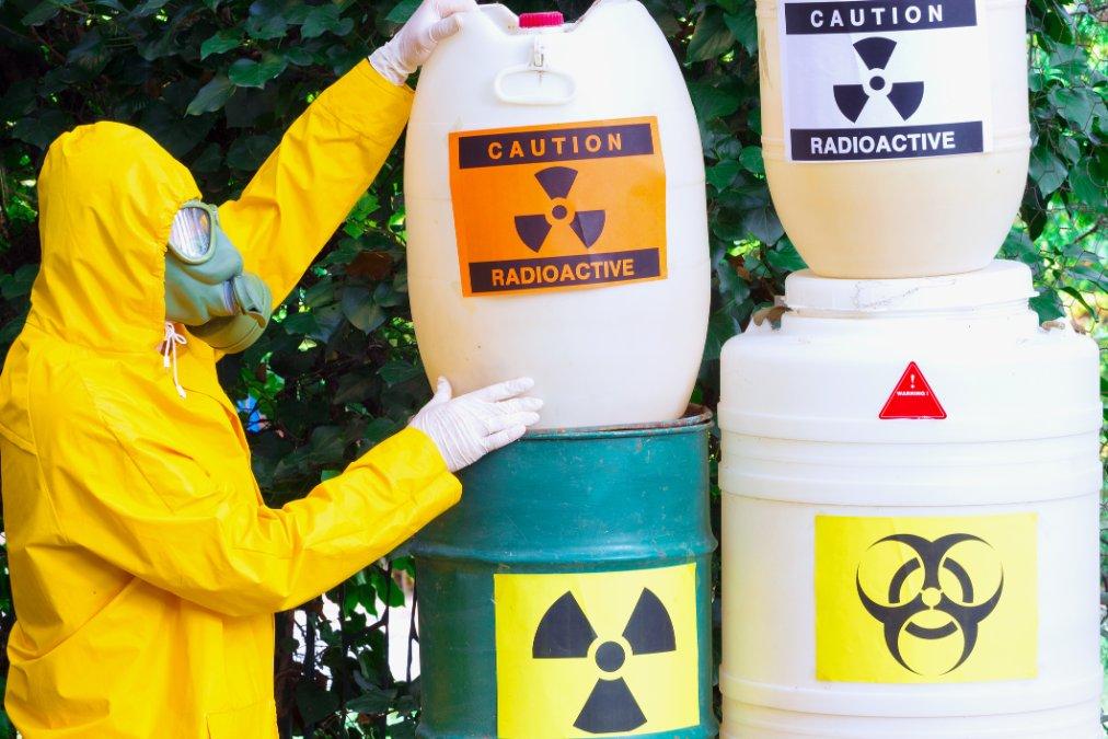 Работа с токсичными отходами