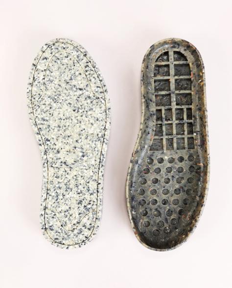 Подошва из переработанной обуви