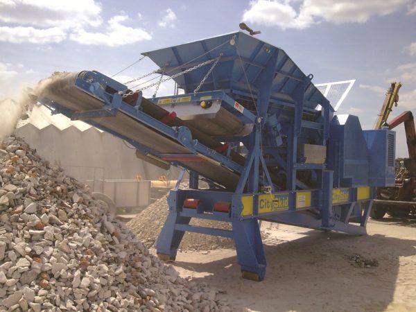 Дробилка для бетонных отходов