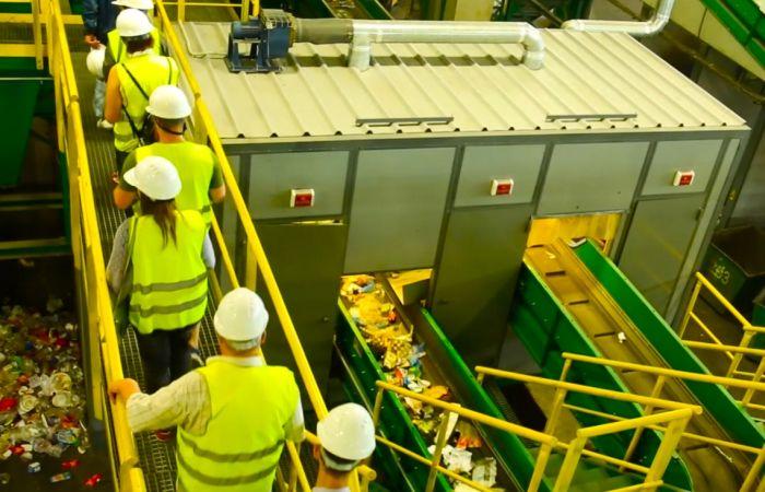 строительство завода по переработке мусора