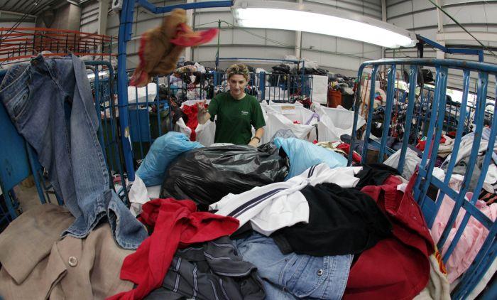 переработка старой одежды
